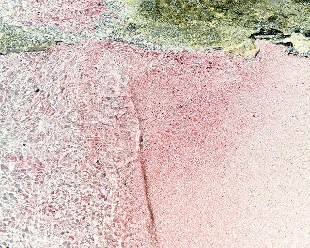 Arena rosa de Elafonisi