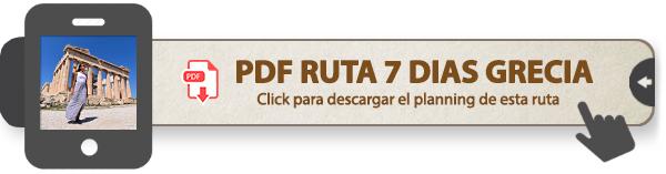 PDF Ruta de 7 días por Grecia