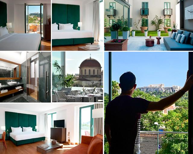 Alojamientos en Atenas