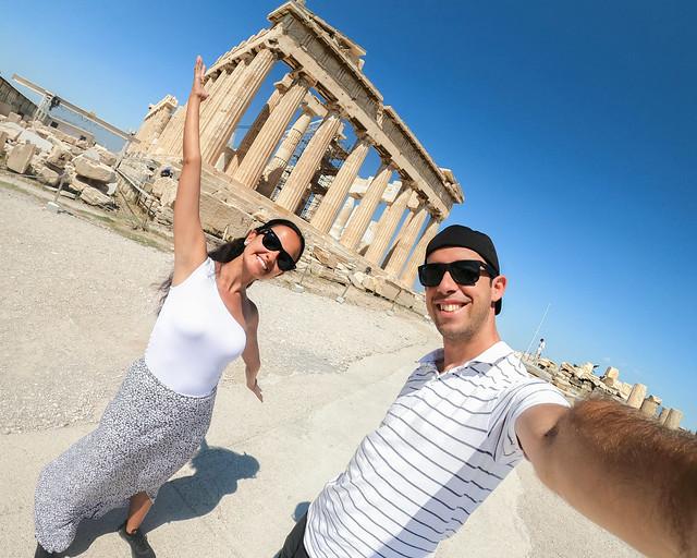 Itinerarios y rutas por Grecia