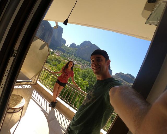 Hotel barato con vistas en Meteora