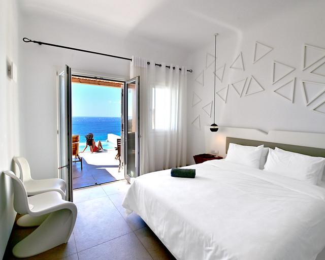 Hotel con infinity en Grecia
