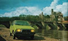 Postcard Citroën Visa Club 4CV à Limoges (87 Haute-Vienne) Collection L'Auto-Journal 1979a