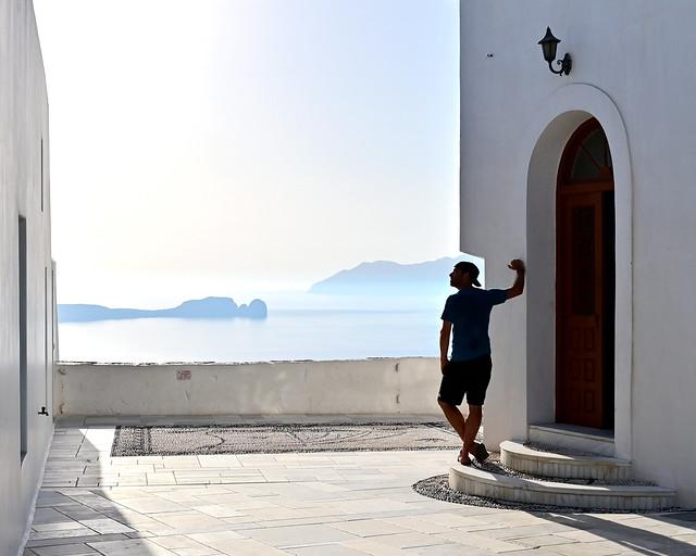 Milos, en uno de los circuitos por Grecia