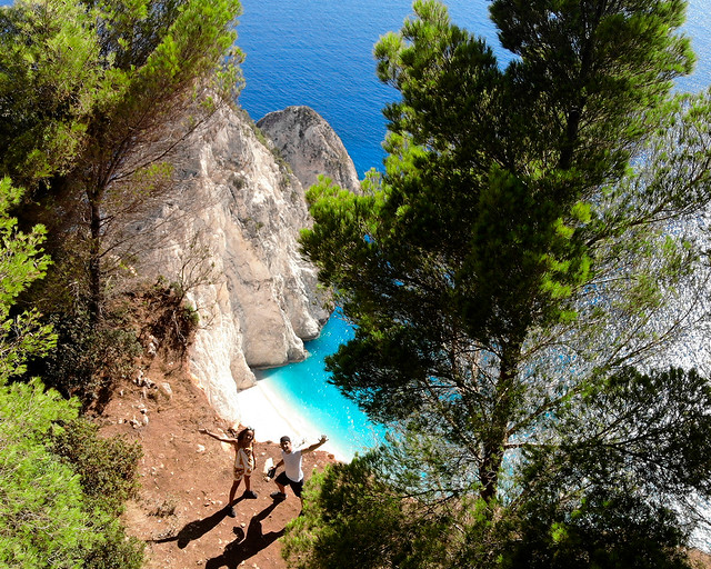 Cabo Keri, en la isla de Zakynthos