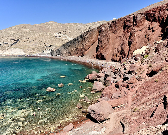 Red Beach de Santorini