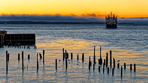 astoriaoregon columbiariver sunset catman duanemoore copyright©duanewmoore allrightsreserved dwm00490a
