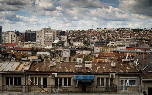 View over Pristina | by JulienLec