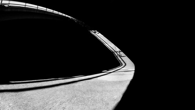Light and Shadow Finish Line