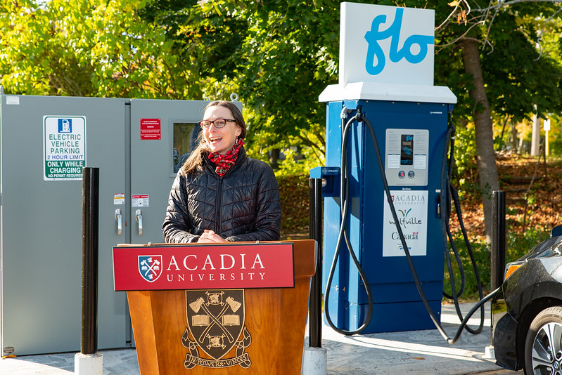 Electric Vehicle Charging Station 2020