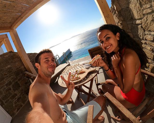 Hotel Horizon en Mykonos, uno de los sitios que visitar en Grecia