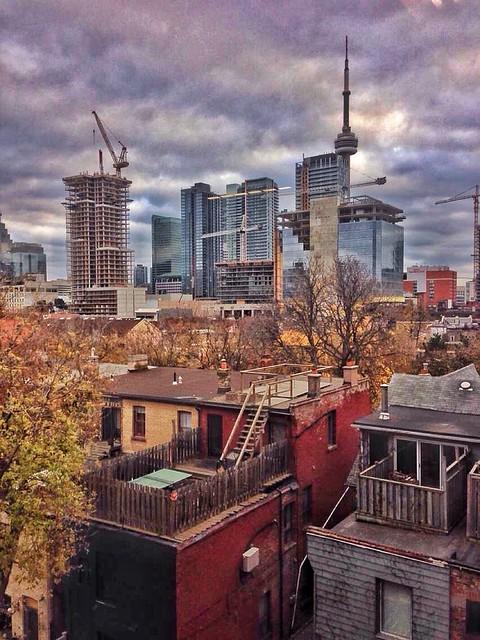 Toronto Ontario - Canada - Chocolate Factory Condo View - Queens Street West