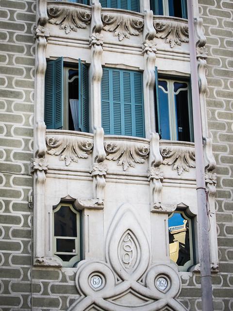 Art Nouveau building, Barcelona