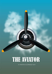 The Aviator - Alternative Movie Poster