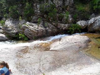 Spuntinu aux vasques de la confluence Carciara/Peralzone