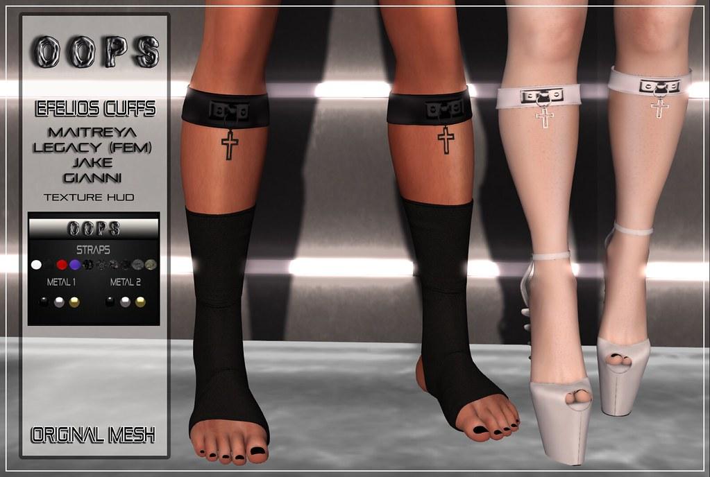 ::OOPS:: Efelios Cuffs – FATPACK