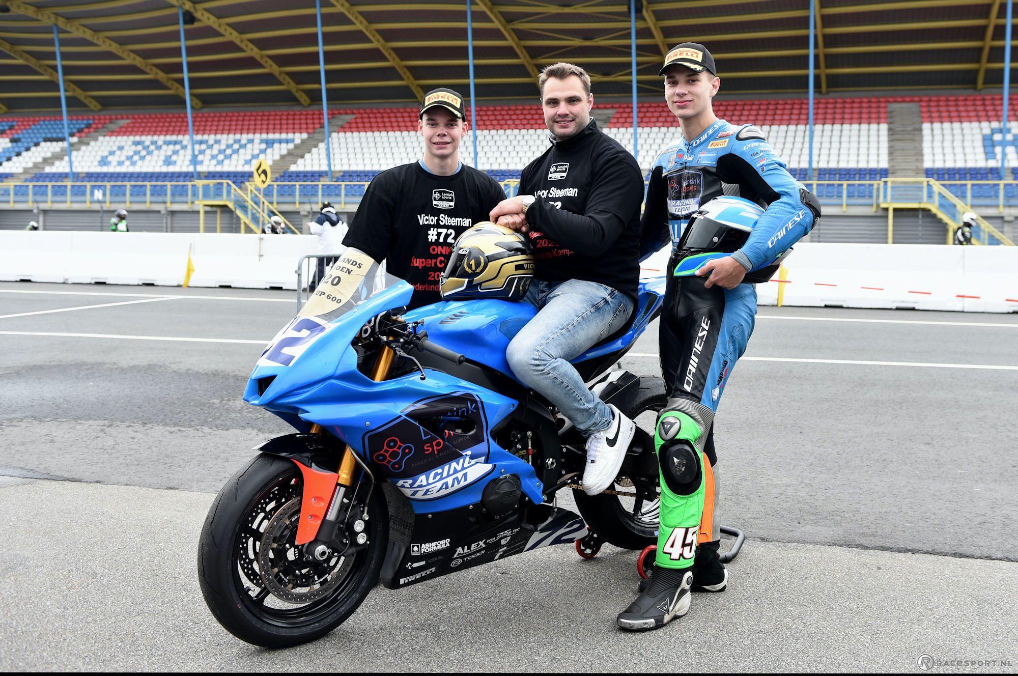 Victor Steeman ONK SuperCup 600 kampioen