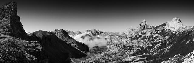 Mount cengia view, Dolomites
