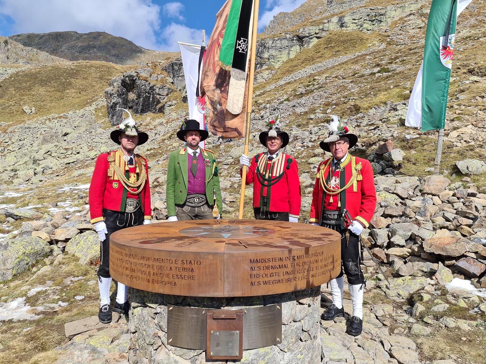 Eröffnungsfeier Markstein Mitte Tirols beim Latzfonserkreuz, 10.10.2020