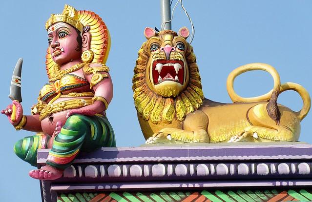 Tamil Nadu - Mamallapuram - Devaneri Fishing Village - Shree Kaliyamman Hindu Temple
