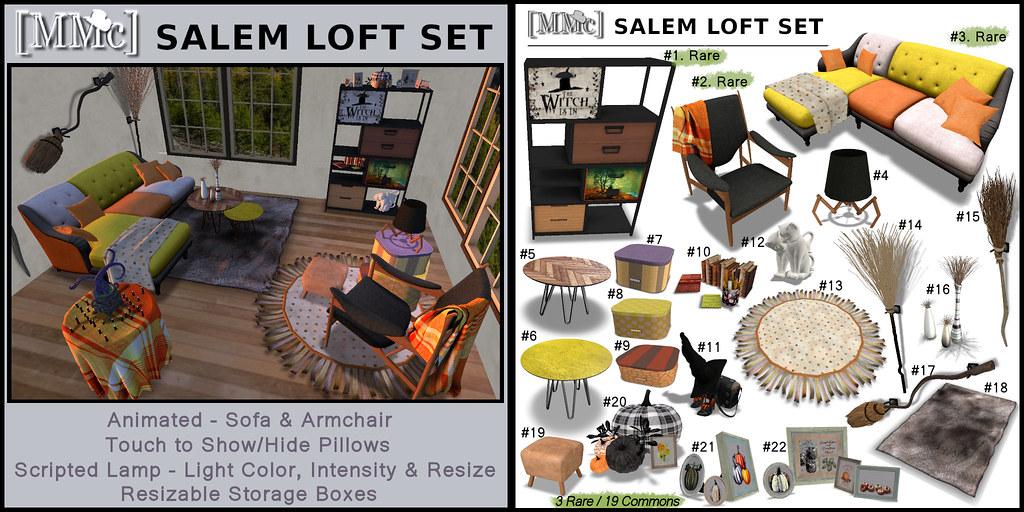 Salem Loft Set AD&Key