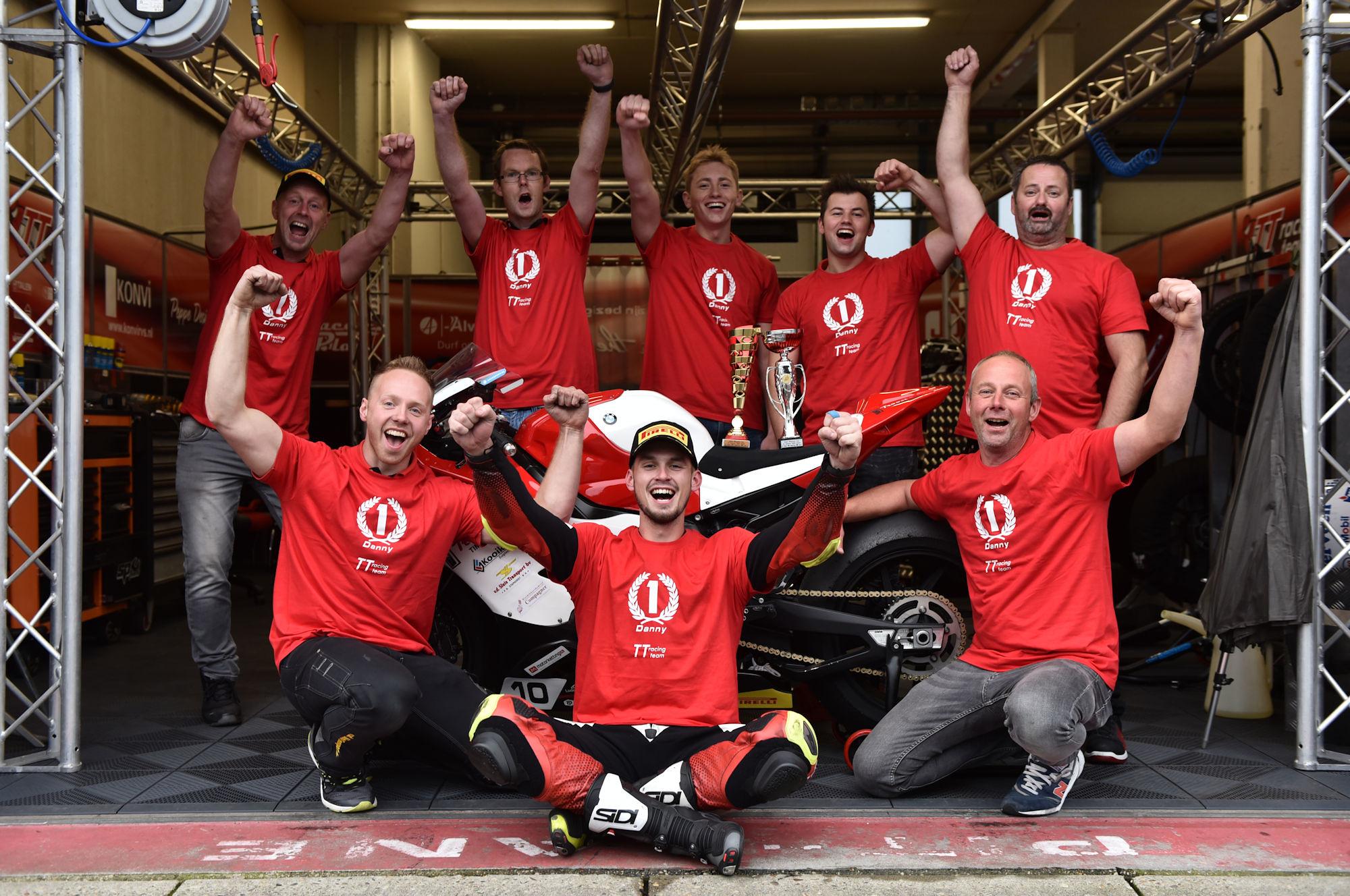 ONK SuperCup 1000 kampioen Danny van der Sluis