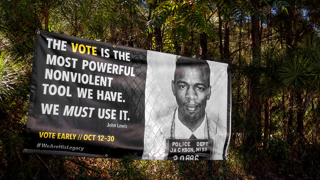 The vote is the most powerful nonviolent tool we have.