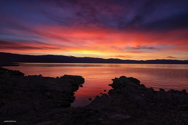 Daybreak on the Adriatic sea
