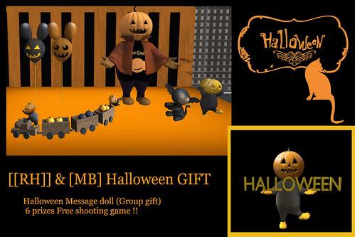 [[RH]] & [MB] Halloween GIFT !!