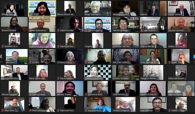 Peru-2020-09-02-International Media Association for Peace Inaugurated in Peru