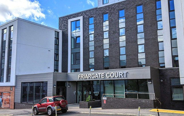 Friargate Court student accommodation, Preston