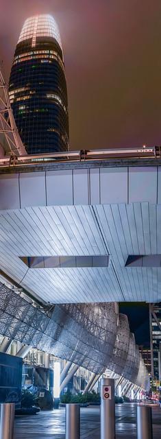 vertical salesforce transit center