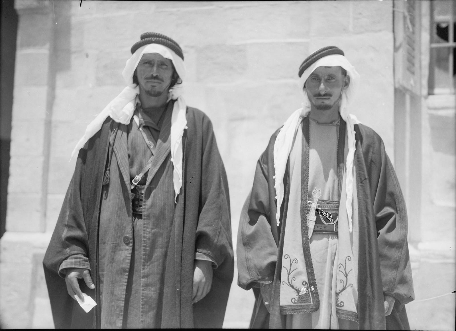 18. Бедуинские шейхи Беэр-Шевы