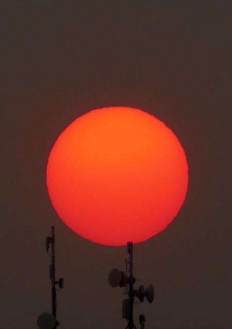 10-1-20 smoky sunset 10-20*
