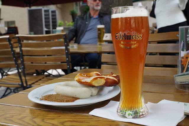 IMG_0407/Beer ,Brezel and Weißwurst