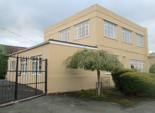 Art Deco House, Flint, North Wales, From Rear