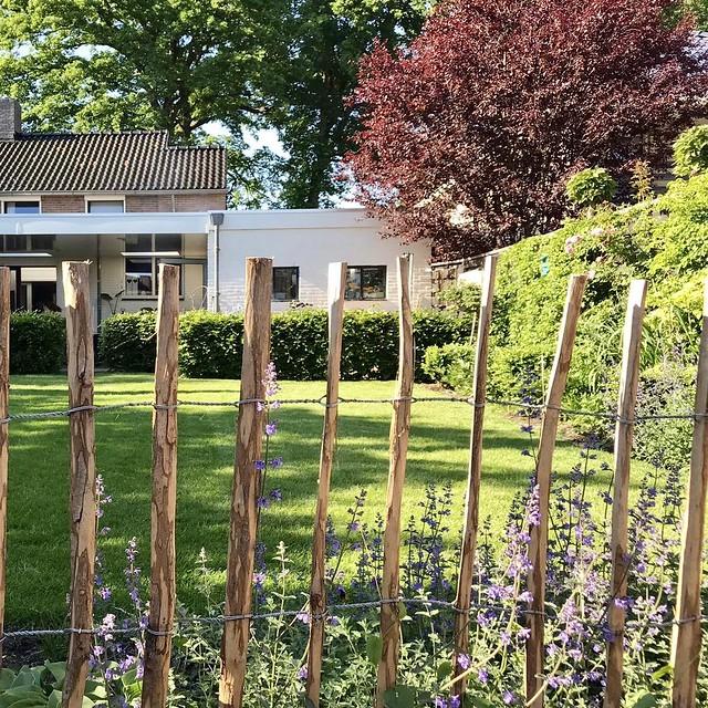 Schapenhek landelijke tuin