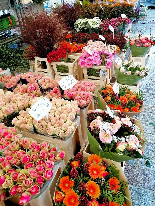 Flores en el mercado de Brujas III