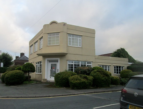 Art Deco House, Flint, From Right