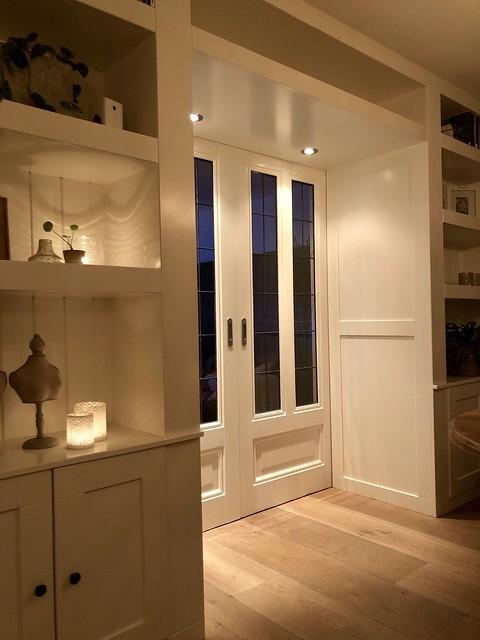 En-suite deuren met verlichting