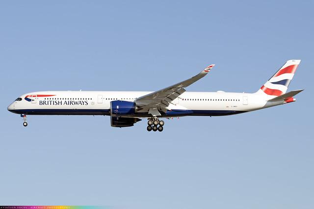 G-XWBG  -  Airbus A350-1041  -  British Airways  -  LHR/EGLL 9/10/20