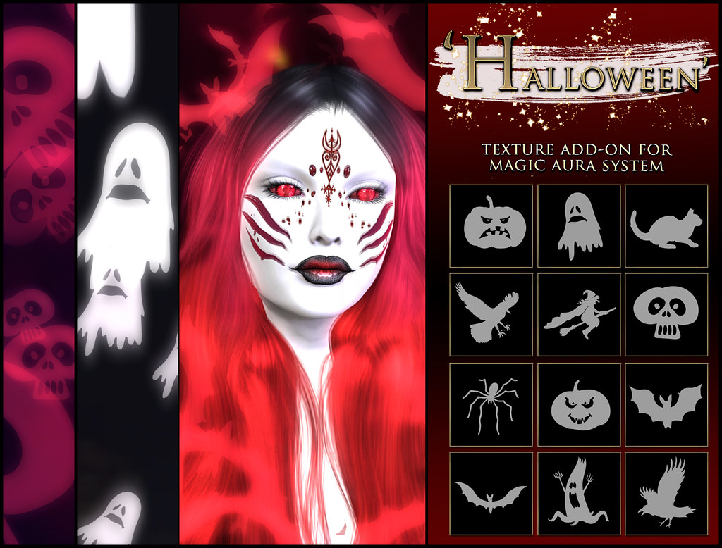 -Elemental' 'Halloween' Texture Addon For Magical Aura