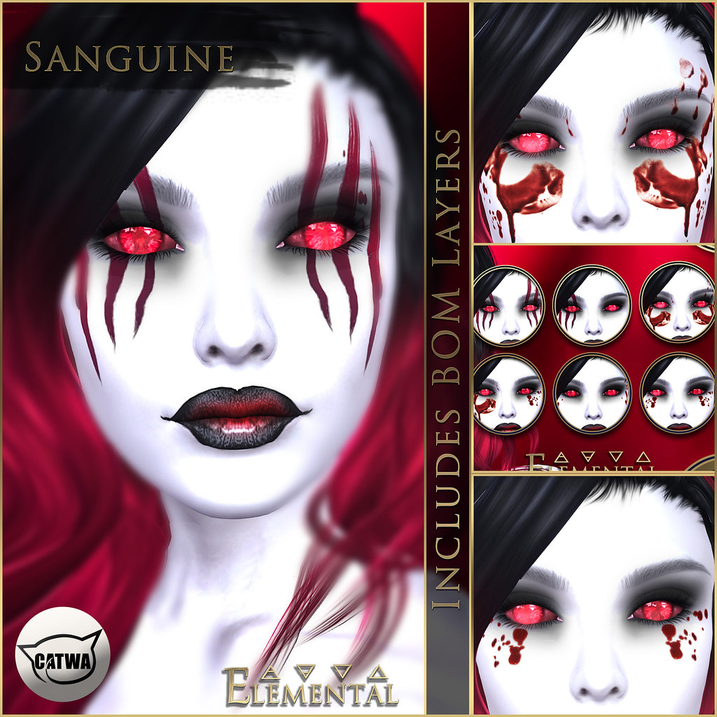 - ELEMENTAL - 'Sanguine' Makeup with BOM Advert