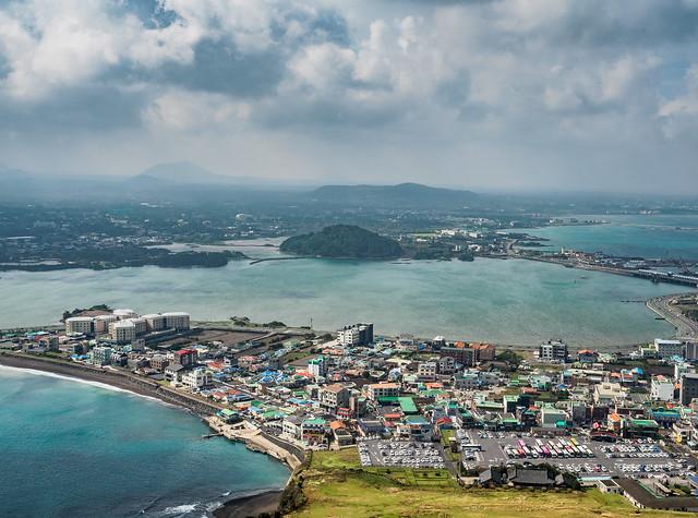 Jeju view from Seongsan