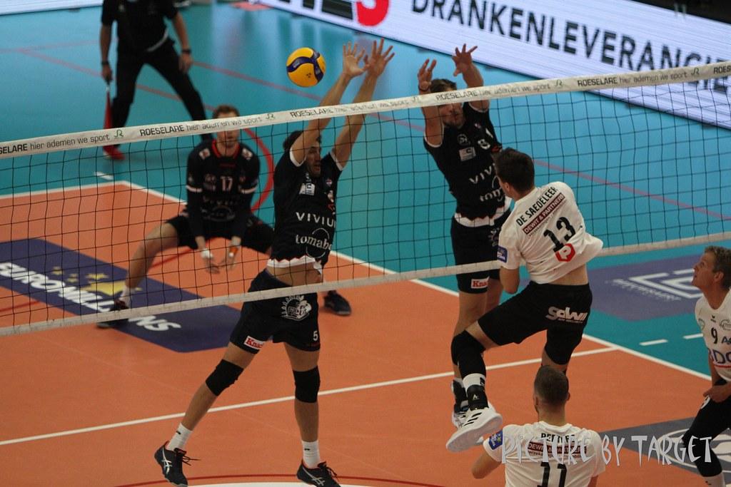 Knack Volley Roeselare - BDO Haasrode Leuven: 3-0