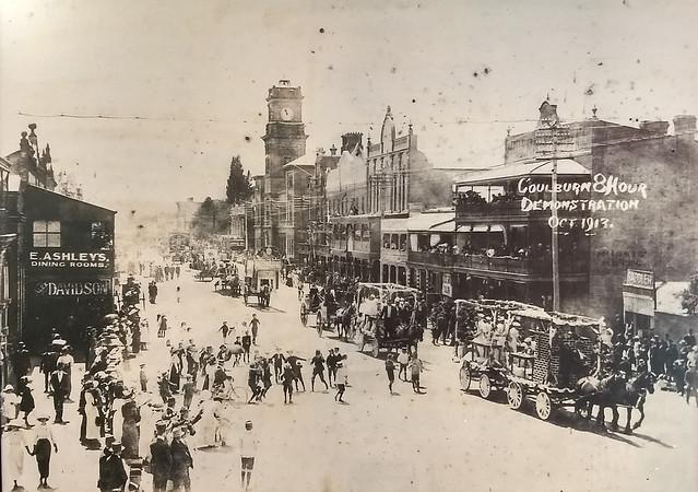 Goulburn - Main Street - 1913