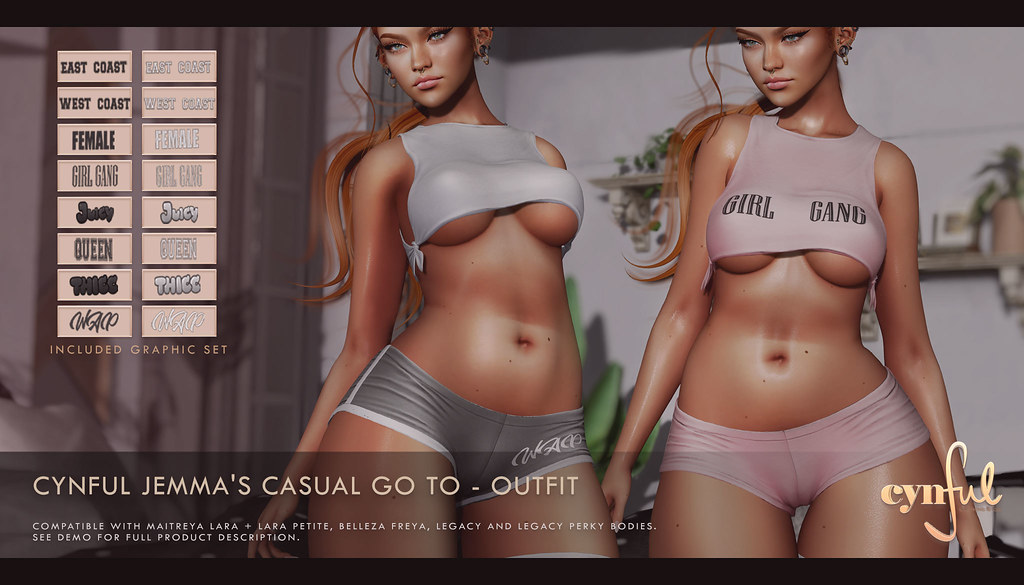Cynful – Jemma's Casual Go To @ equal10