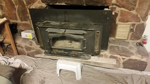 Pulled Out Stove