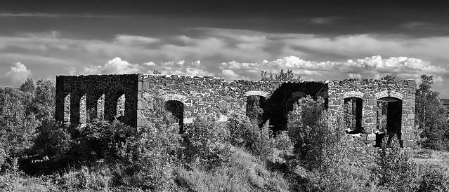 Ruins Over Quincy Mine