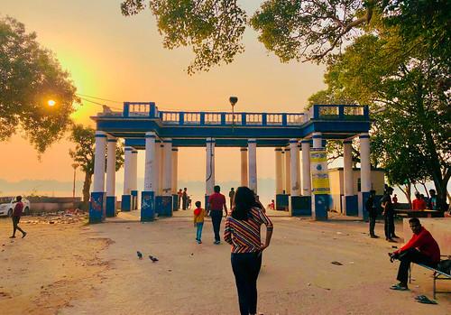 """dakshineswar """"sunset"""" """"childhoodmemories"""" """"westbengal"""" alambazar """"riverganges"""" """"banksofganges"""" """"gangarghaat"""" """"mobilephotography"""""""